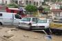 Ankara'da sel araçları önüne katıp sürükledi
