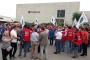 Sendika hakkı için direnen Termokar işçilerine destek ziyareti