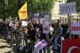 Erdoğan'a İngiltere'de protesto: Başbakanlığa arka kapıdan girebildi