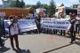 Tayaş önünde iş kazası protestosu: Örgütlenmezsek kazalar sürer