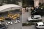 UBER aracı zannettikleri minibüsün yolunu kestiler