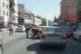 Kadın yolcuya şiddet uygulayan taksici tutuklandı