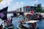Berlin'de ırkçılara karşı kitlesel ve renkli eylemler