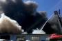 Kağıthane'de bir fabrikada yangın