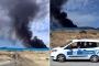 Halk uyarmıştı: Çaltılıdere'deki sanayi atıkları yine yandı