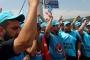 Tat Çelik işçileri greve çıktı