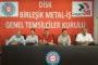 Birleşik Metal-İş: Artık tamam diyoruz