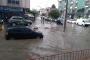 Düzce'de fırtına, yağmur ve dolu hayatı felç etti