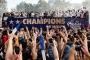 Dünya Kupası'nı kazanan Fransa Fransa Milli Takımı evine döndü