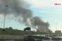Zeytinburnu'daki metruk fabrikada yangın çıktı
