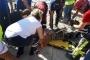 TOKİ inşaatında 30 metreden düşen işçi yaralandı