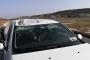 İzmir'de gazetecilerin olduğu araca uçak çarptı