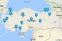 Türkiye'nin Süper Lig haritası