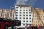 Sultanbeyli'de hastanenin çatısında yangın çıktı