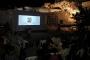 İsrail'in yıktığı kültür merkezinde gazeteci belgeseli gösterildi