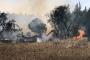 Çanakkale'de otluk alandaki yangın evin çatısına sıçradı