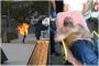 Urfa'da işsiz genç üzerine benzin döküp ateşe verdi