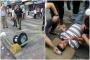 Kadıköy'de bir yurttaşın başına sokak lambası düştü