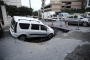 Eyüpsultan'da yol çöktü: Bir araç göçüğe düştü