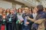 Avukat Heval Yıldız Karasu'ya yönelik saldırı protesto edildi