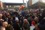 Berlin'de binler 'Hoş gelmedin Erdoğan' sloganıyla yürüdü