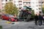 Meclis önünde durmayan traktöre polisler ateş açtı