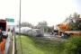 Sakarya'da beton tankeri devrildi: 1 ölü