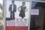 Irkçı afiş: İran, Suriye, Afgan müşteri bu dükkâna giremez, dayak yer