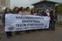 KESK'li kadınlar Binali Yıldırım'ın açıklamalarına tepki gösterdi