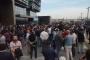 UBER sürücülerinden 'Güzergah izin belgemizi verin' eylemi