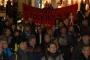 Kristal Gece'nin yıl dönümünde Stockholm'de ırkçılık protesto edildi