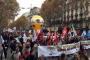 Fransa'da öğretmenler greve çıktı