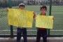 Mahallelerinde baz istasyonu istemeyen yurttaşlar eylem yaptı