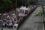 Kolombiya'da binlerce öğrenci eğitime bütçe talebiyle yürüdü