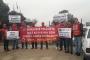Urfa'da TÜVTÜRK işçileri eylemde