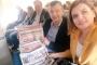 CHP'li vekiller, THY'nin gazete ambargosunu protesto etti