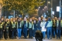 Karadağ'da 'sarı yelekli' protesto