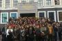 Öğrenciler Mülkiyenin kapısının kendilerine kapatılmasına tepkili