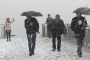 İstanbul ve Ankara'da lapa lapa kar yağışı