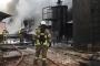 Bandırma'da yağ fabrikasında yangın