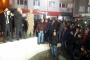 Uşak'ta 300 kişilik grup Suriyeli mültecilerin evlerine yürüdü