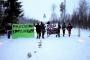 Finlandiya'da çevrecilerden maden ocağına barikat