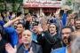 İran'da ücretleri ödenmeyen sayaç işçileri eylem yaptı