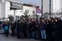 Makro Market işçileri, tazminat hakkı için Ankara'da