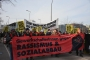 Avusturya'da ırkçı partiye karşı yürüyüş düzenlendi
