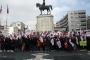 Sözleşmeli öğretmenler tayin hakları için eylem yaptı