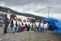 SİBAŞ'ta sendikalaştıkları için işten atılan işçiler fabrika önünde