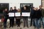 Kocaeli'de Ener Liva konut projesi mağdurları eylem yaptı
