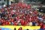 Venezuela'da petrol şirketi PDVSA'nın çalışanları ABD'yi protesto etti