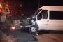 Elektrik işçisi, araca minibüs çarpması sonucu yaşamını yitirdi
